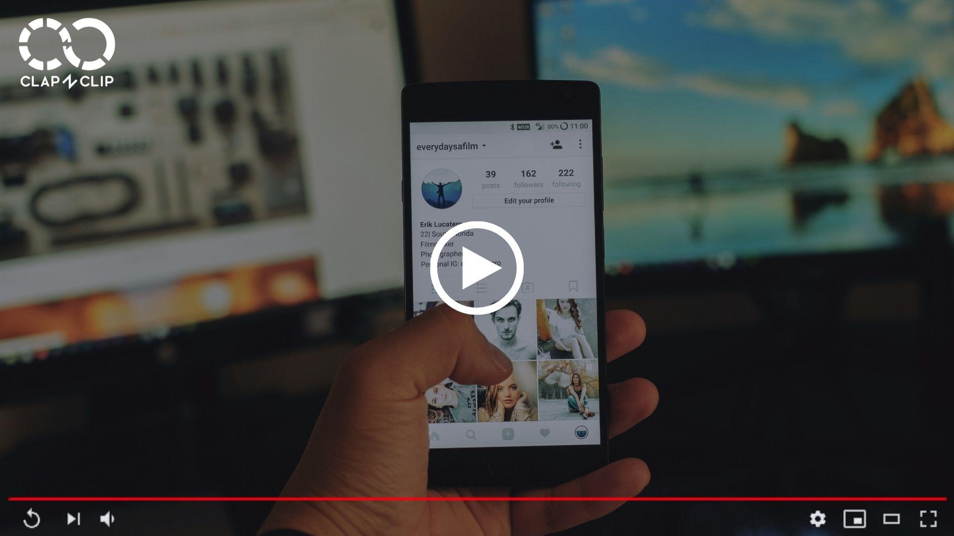 reseaux sociaux video touristique